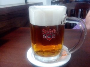 ježek pivo