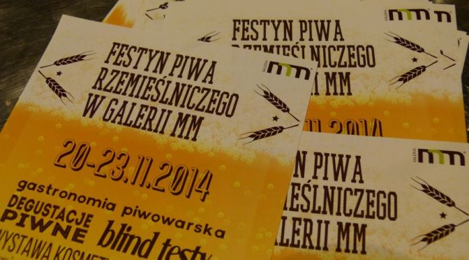 Festyn Piwa Rzemieślniczego-Poznań 20-23.11.2014