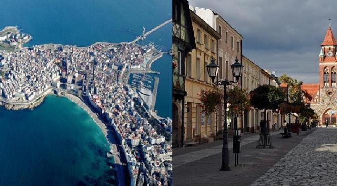 Piwna Mapa- A Coruña oraz Grodzisk Wlkp.