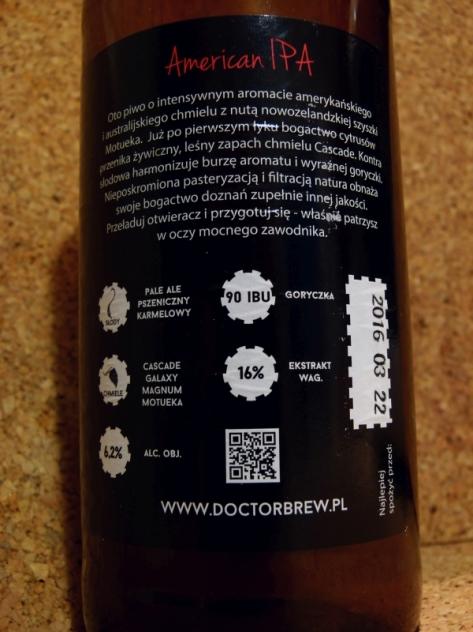 Doctor Brew Amercian IPA_piwnakompania.wordpress.com 2