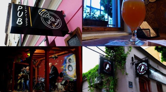 Z wizytą w pubach: Lot Chmiela i Piwna Stopa, Poznań.
