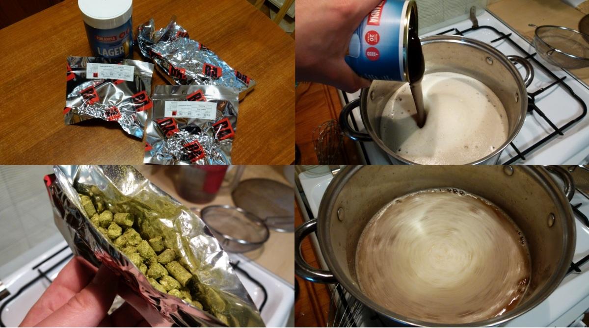 Pierwsze warzenie-brewkit