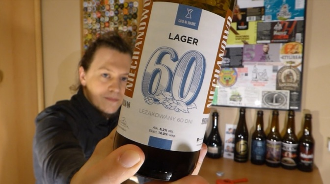Lager 60 z browaru Niechanowo #vlog