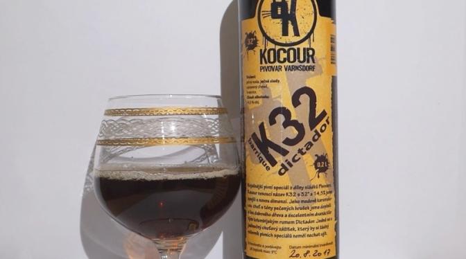 K32 Barley Wine z browaru Kocour