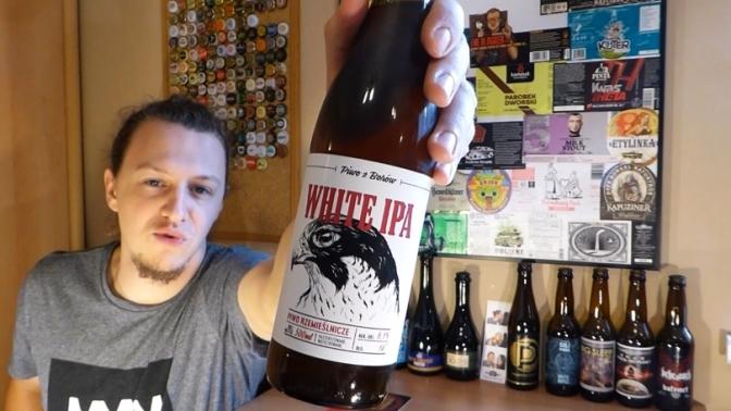 White IPA z browaru Przystanek Tleń