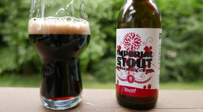 Imperial Stout Whisky Oak Chips z browaru Wrężel.