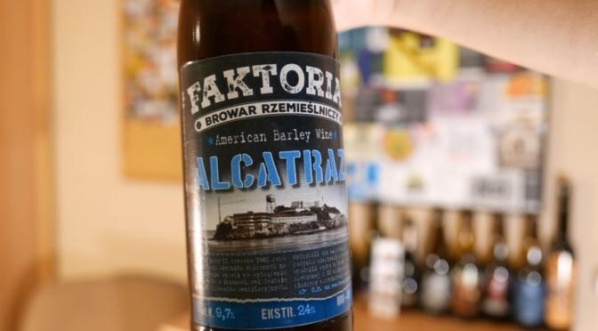 Alcatraz z browaru Faktoria [American Barley Wine]
