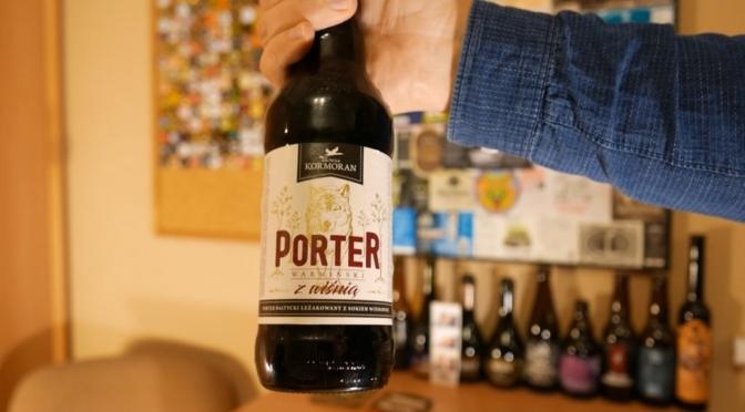 Porter z wiśnią z Kormorana