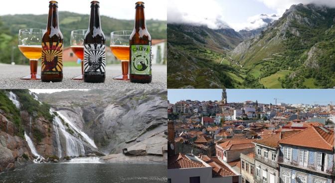 (Nie) Tylko piwne podróże: Porto i Hiszpania.