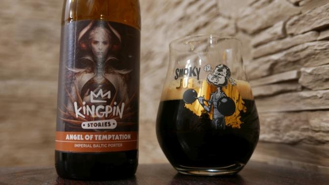 Angel of Temptation z browaru Kingpin [Imperial Baltic Porter]