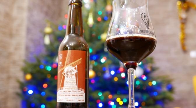 Łódź i Młyn Whisky Bowmore BA z browaru Piwoteka + życzenia świąteczne
