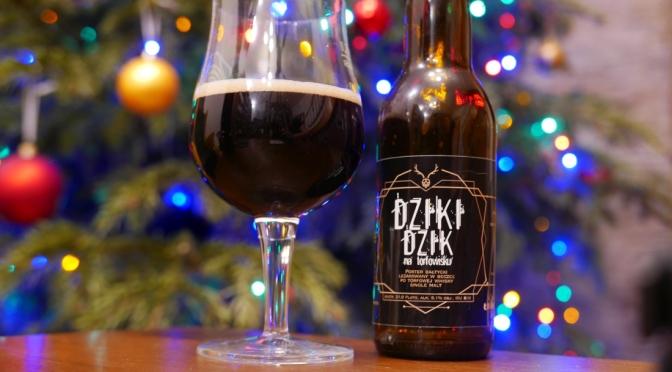 Dziki Dzik na Torfowisku z browaru Łąkomin [Baltic Porter Whisky BA]