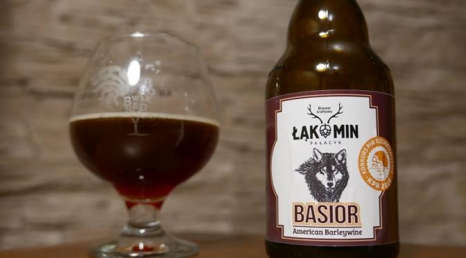 Basior z browaru Łąkomin [American Barley Wine]