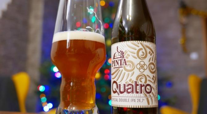 Quatro z Pinty [Special Double IPA]