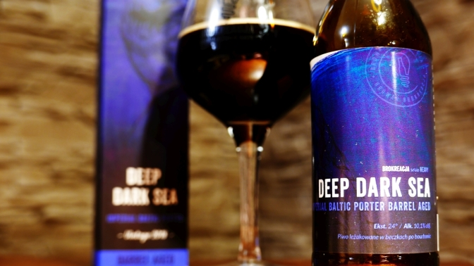 Deep Dark Sea Bourbon BA z Brokreacji