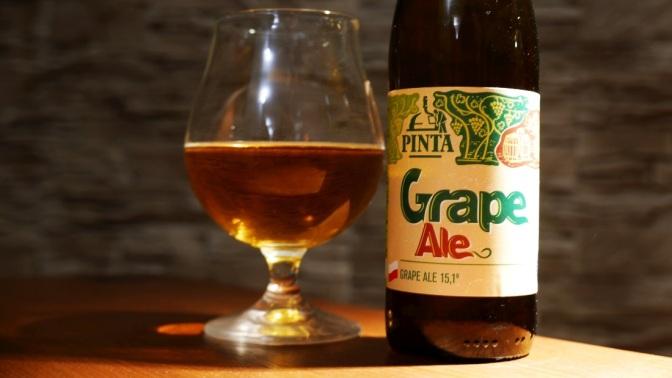 Grape Ale z browaru Pinta [winogrona w piwie]