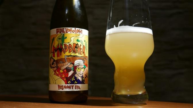 Maddriver [Bezalkoholwe Vermont IPA] + zapowiedź warzenia niskoalko. piwa