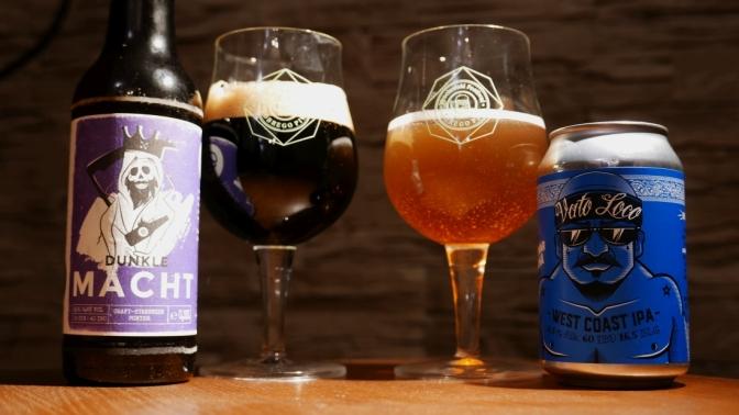 Dunkle Macht z Landgang Brauerei oraz Vato Loco z Browaru Jana