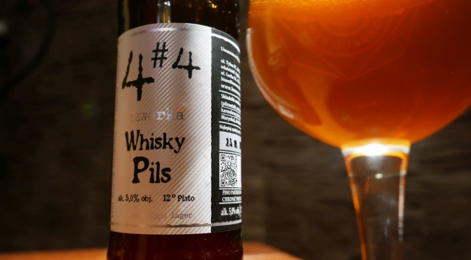 Whisky Pils z browaru Alternatywa