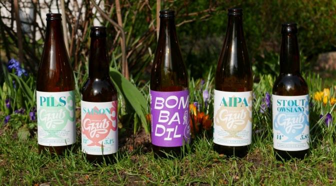 Przegląd piw browaru Gzub.