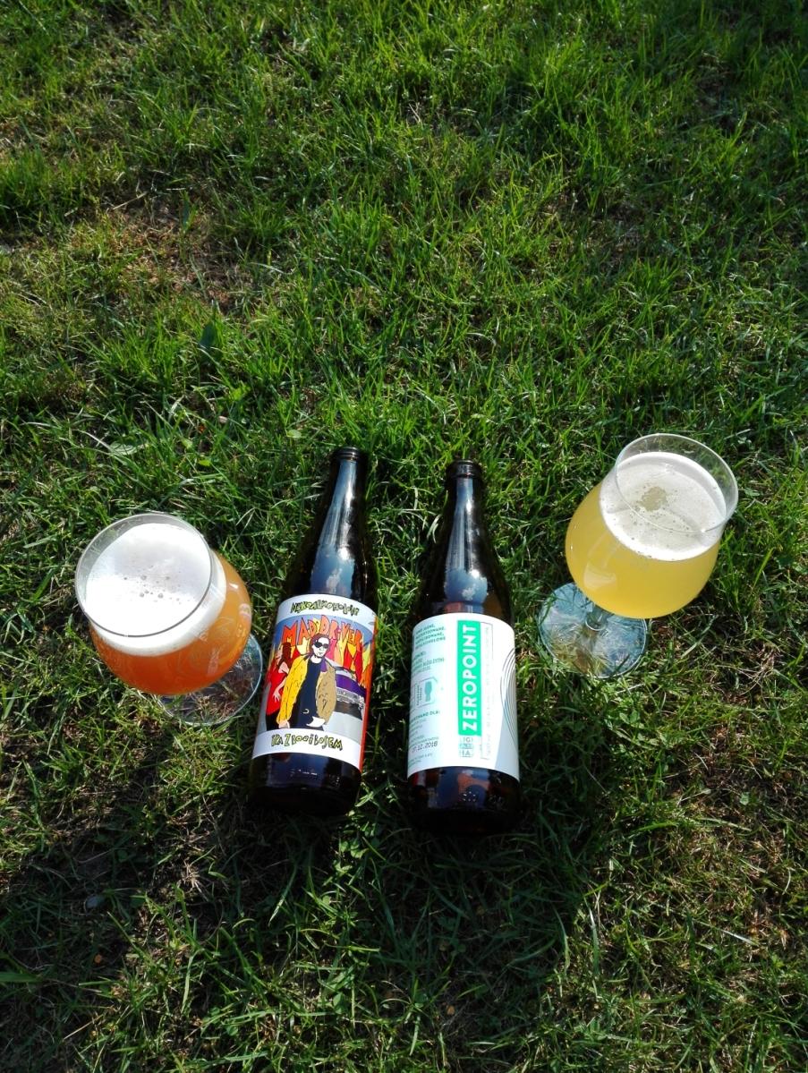 Zeropoint & Maddriver - Test  bezalkoholowych piw na lato.