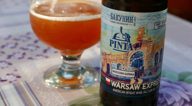 Warsaw Express [American Wheat Wine] z browaru Pinta