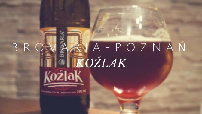 Koźlak z poznańskiej Brovarii