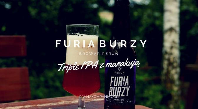 Furia Burzy [Triple IPA z Marakują] -Browar Perun