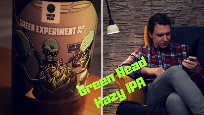 Green Experiment Hazy IPA – Green Head