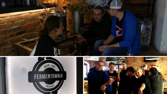 Kranoprzejęcie Funky Fluid w Fermentowni – Wywiad.