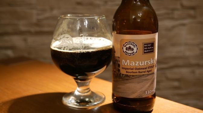 Mazurski Oatmeal Stout Bourbon BA