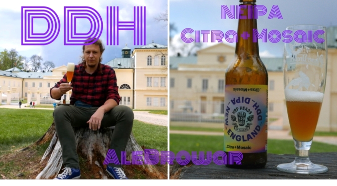 DDH NEIPA Citra + Mosaic – AleBrowar