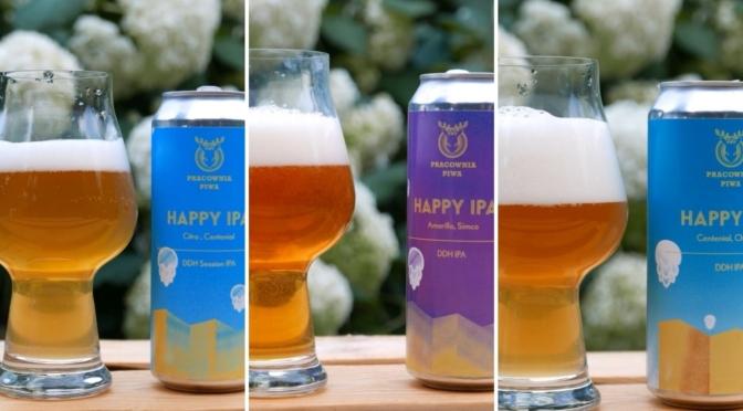 Pracownia Piwa – Happy IPA x3