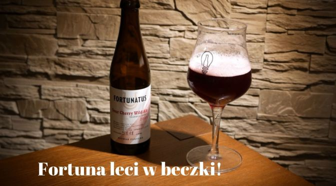 Fortunatus Sour Cherry Wild Ale – Browar Fortuna