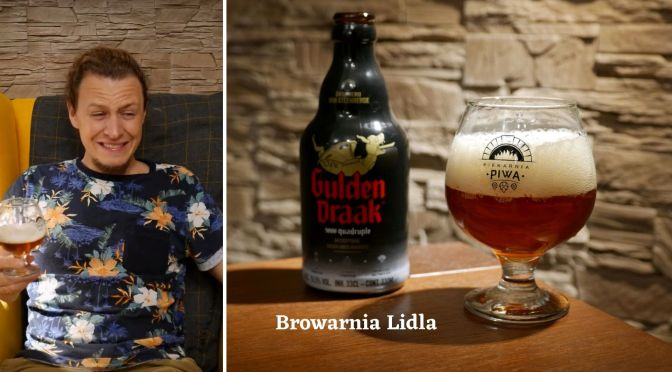 Gulden Draak 9000 Quadruple [Browarnia Lidla]