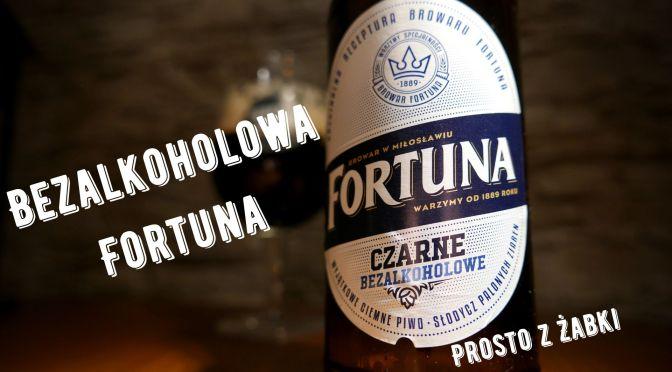 Fortuna – Czarne Bezalkoholowe [Żabka]