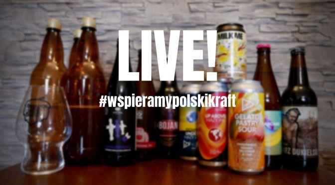 Live – Browar Wagabunda #Wspieramypolskikraft