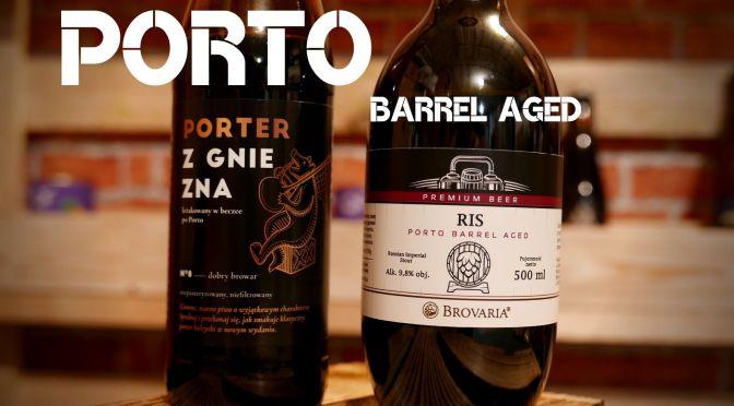Porter Porto BA vs RIS Porto BA –  DObry Browar Gniezno i Brovaria