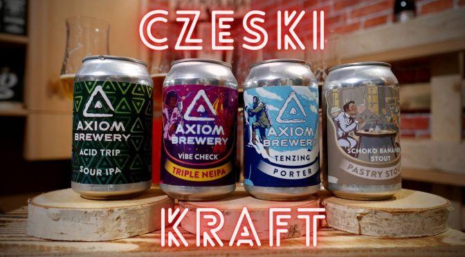 Axiom Brewery – Czeski kraft w puszkach