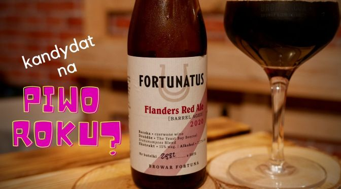 Fortunatus Flanders Red Ale 2020 – Browar Fortuna