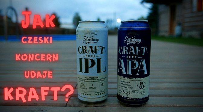 Starobrno Craft Beer – Jak czeski browar koncernowy udaje kraft?
