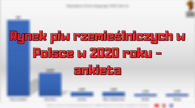 Rynek piw rzemieślniczych w Polsce w 2020 roku [Ankieta]