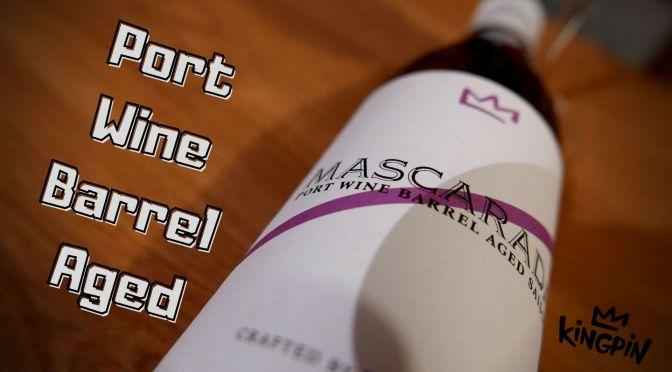 Mascarada – Saison Port Wine Barrel Aged