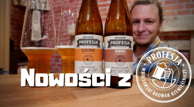 Kowboj vs Elektryk – West Coast IPA vs Double IPA – Browar Profesja