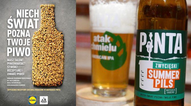 Summer Pils – Browar Pinta & Lidl [Niech świat pozna Twoje piwo]