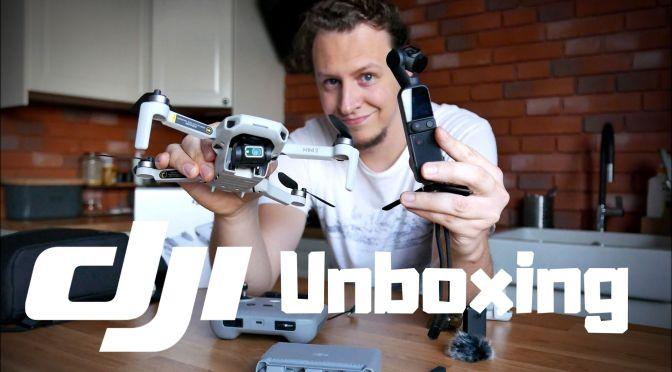 DJI Mini 2 7 DJI Osmo Pocket 2 – Czym będę nagrywał w tym roku? [Unboxing]