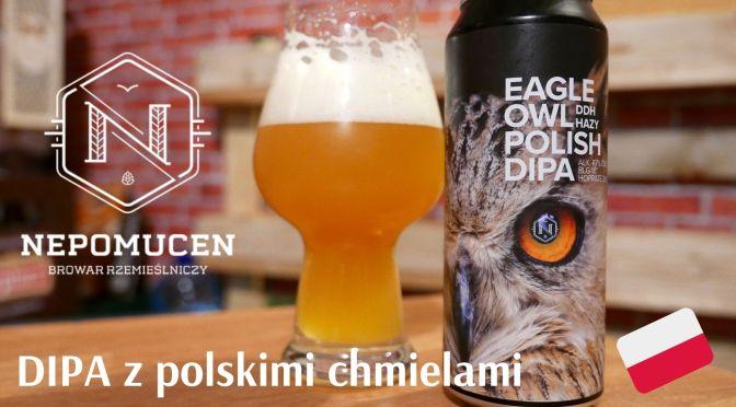 Polskie chmiele w natarciu – Eagle Owl Polish DIPA – Nepomucen